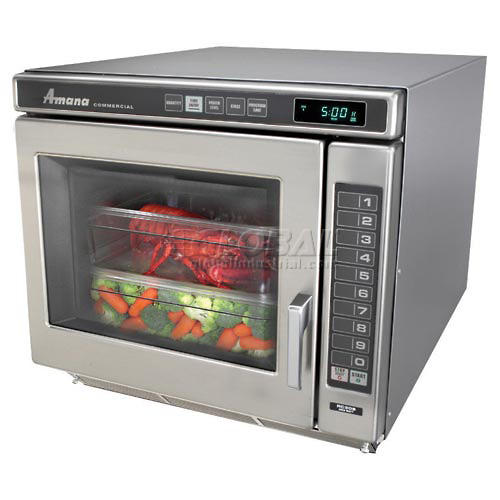 Amana 1.0 Cu. Ft. 2200 Watt Keypad Commercial Microwave RC22S2 by