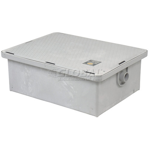 Canplas Endura 25GPM Low Profile Grease Trap by