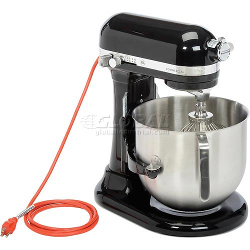 KitchenAid Commercial 8 Qt. Bowl Mixer Onyx Black KSM8990OB by