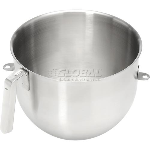 KitchenAid KSMC8QBOWL Commercial 8 Qt. Bowl, Stainless Steel NSF by