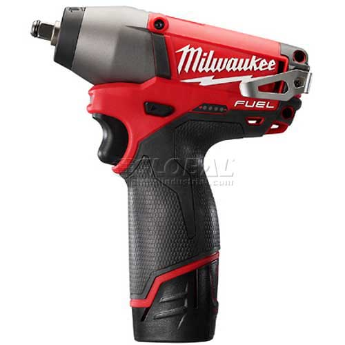 "Milwaukee 2454-22 M12 FUEL 3/8"" Drive Impact Wrench Kit by"