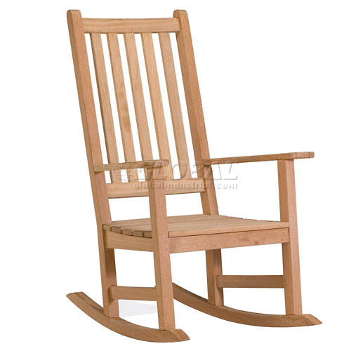 Buy Oxford Garden Franklin Outdoor Rocking Chair Natural
