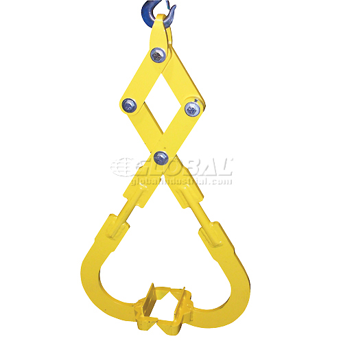 Vestil Die Lifting Tongs Lifting Attachment DLT-20 2000 Lb. Capacity by