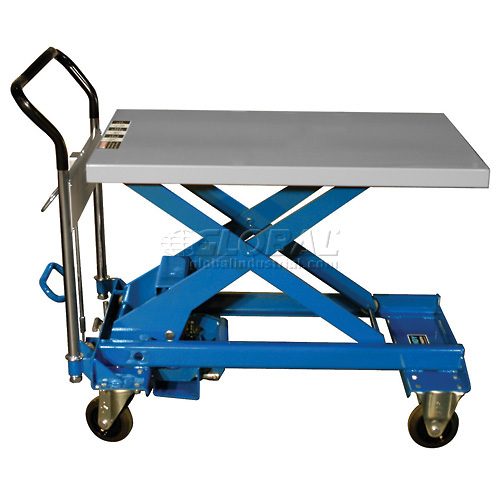 Southworth Dandy Lift A-800 Mobile Scissor Lift Table 1760 Lb. Capacity by