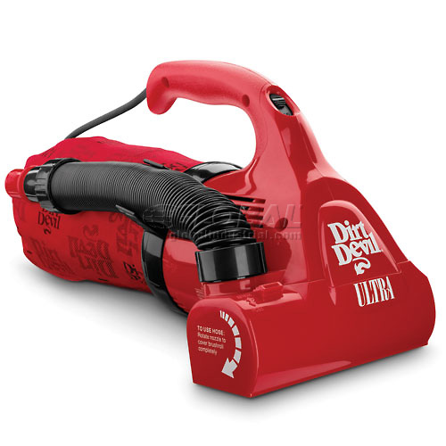 Click here to buy Royal Appliance M08230RED Dirt Devil Ultra Hand Vac.