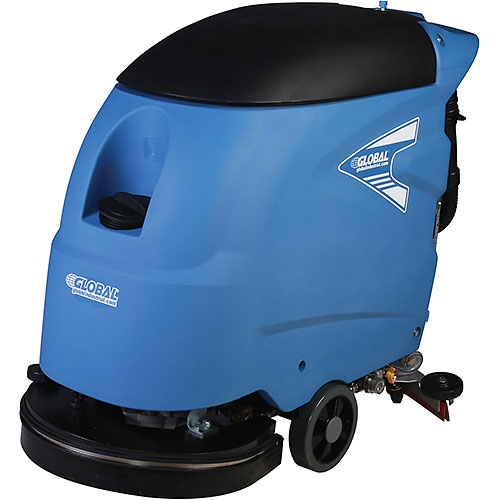 "Click here to buy Global Industrial Electric Auto Floor Scrubber 20"" Cleaning Path Corded."
