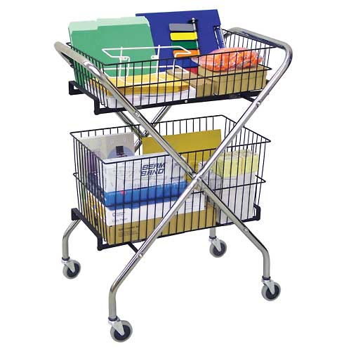 Omnimed 264620 Utility Cart Baskets and/or Racks Sold Separately by