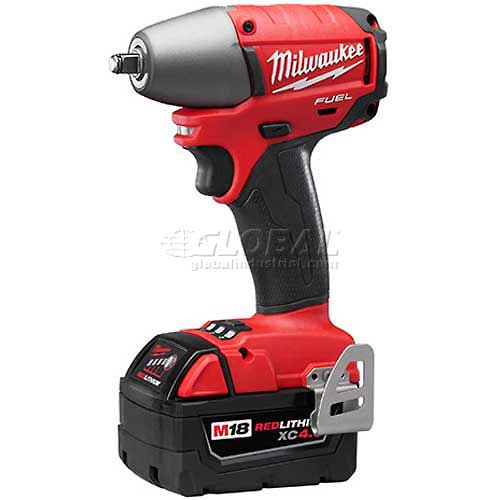 "Milwaukee 2754-22 M18 FUEL 3/8"" Friction Ring Impact Wrench, Kit by"