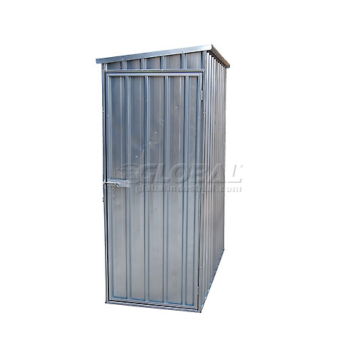"Outdoor Utility Steel Storage Shed 60""W x 33.75""D x 75""H by"