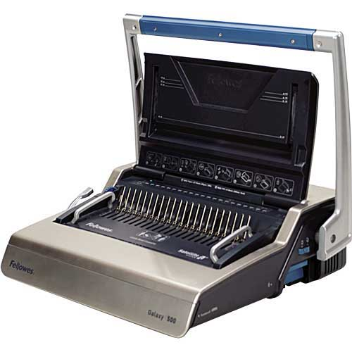 Buy Fellowes Galaxy 500 Manual Comb Binding Machine