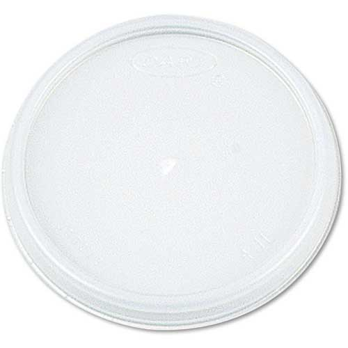 Dart Plastic Lids, For 8, 12, 16 Oz. Foam Food Containers/5, 6, 8, 10 Oz. Bowls, Vented by