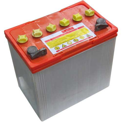Replacement Battery for Global Industrial 3300 Lb. Electric Pallet Jack Trucks by