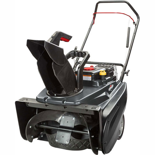 Briggs and Stratton 22 in. 208 cc Single Stage Gas Snow Thrower with Recoil Start 1022 by