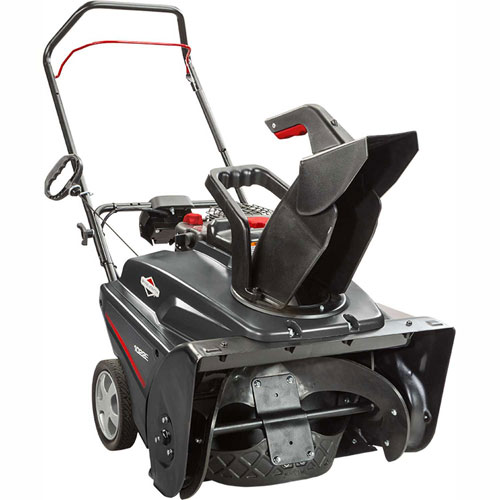 Briggs and Stratton 22 in. 208 cc Single Stage Gas Snow Thrower with Electric Start 1022E by Snowblowers
