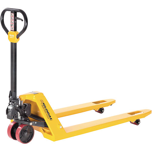 Click here to buy Best Value Pallet Jack Truck 5500 Lb. Capacity 27 x 48.