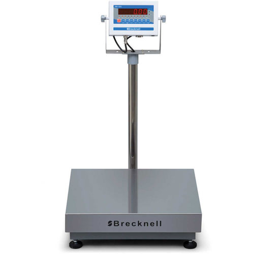 """Brecknell 3800LP Bench Digital Scale 150lb x 0.05lb, 25"""" x 20"""" by"""