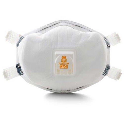 3M 8233 N100 Particulate Respirator, 1 Each by