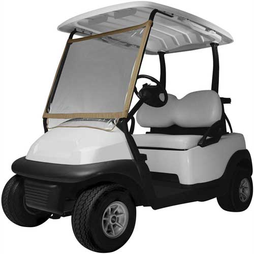 Classic Accessories Deluxe Portable Golf Car Windshield 40-001-012401-00 by