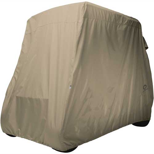 Classic Accessories Fairway Golf Car Cover, Long Roof, Khaki 40-039-345801-00 by