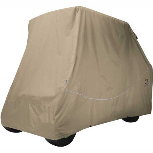 Classic Accessories 40-067-015801-RT Fairway Quick-Fit Conversion Kit Golf Cart Cover by