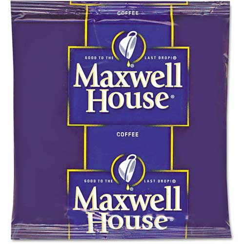 Maxwell House Coffee Filter Packs, Regular, 0.7 oz., 100/Carton by