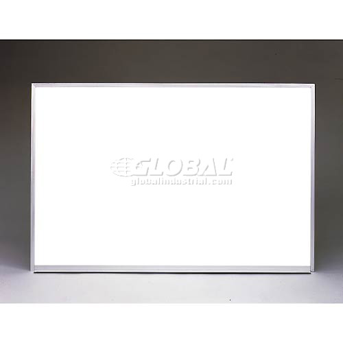 """Buy Ghent 72"""" x 48""""H Whiteboard with Aluminum Frame Non-Magnetic Includes Marker/Eraser USA Made"""