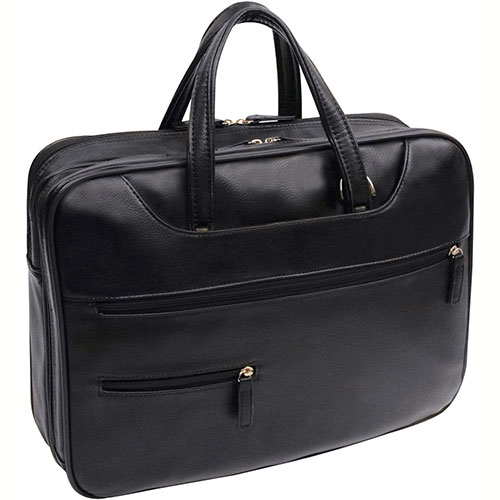 "Bond Street 455743 Executive Briefcase, 15.4"" Computer Case, Black by"