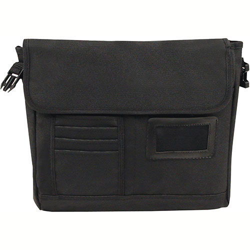 Bond Street 463241 Nylon Executive Briefcase, Computer Case, Black by
