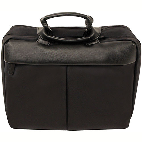 "Bond Street 466102 Nylon Executive Briefcase, 14"" Computer Case, Black by"