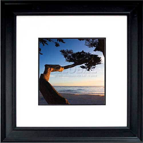 """Click here to buy Crystal Art Gallery Carmel Sunset 26""""W x 26""""H, Double Mat Framed Art."""