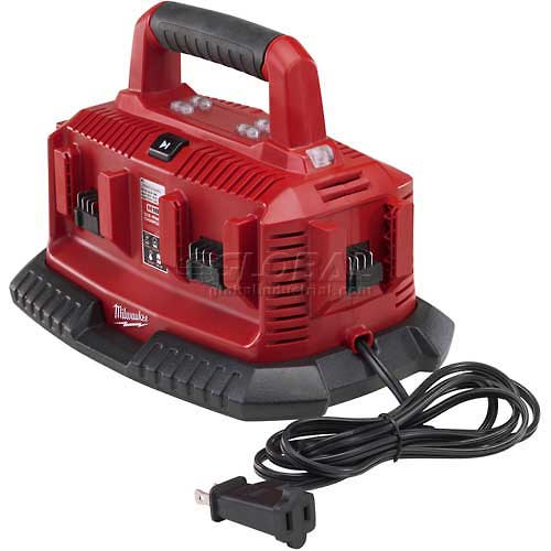 Buy Milwaukee 48-59-1806 M18 Six Pack Sequential Charger
