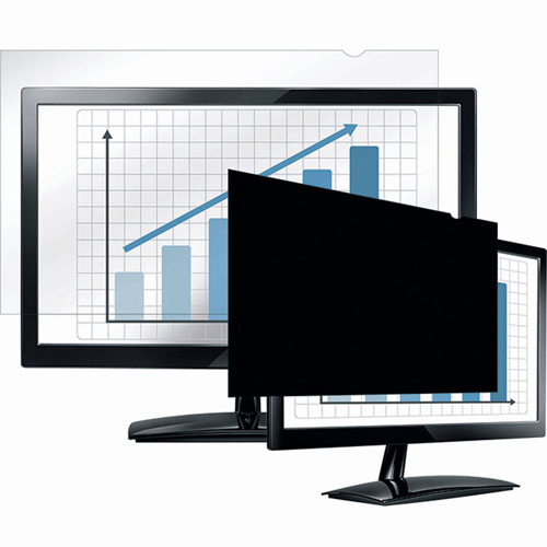 "Buy Fellowes 4801601 PrivaScreen Blackout Privacy Filter for 24"" Widescreen Monitors Package Count 4"