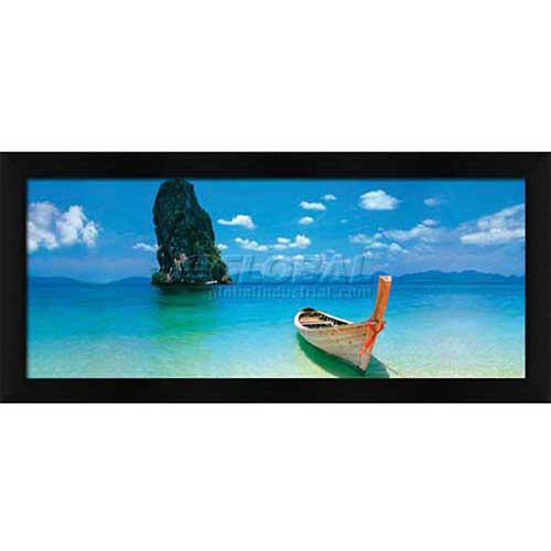 """Click here to buy Crystal Art Gallery Phuket 40""""W x 16""""H, Straight Fit Framed."""