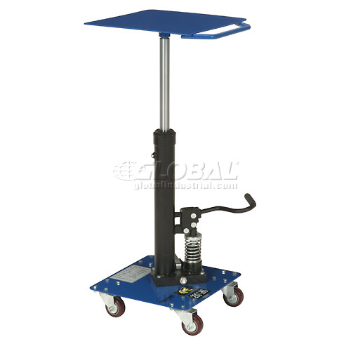 Work Positioning Post Lift Table Foot Control 200 Lb. Capacity by