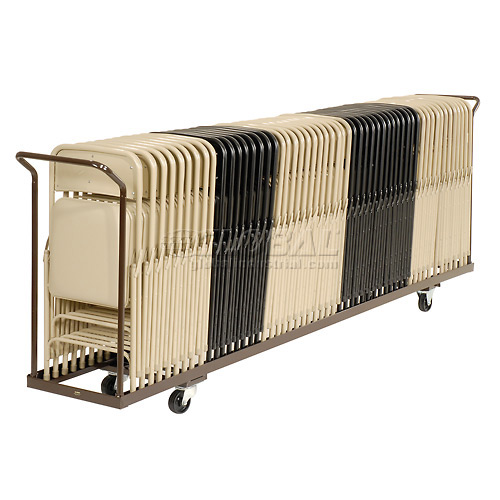 Folding Chair Cart Holds 54 by