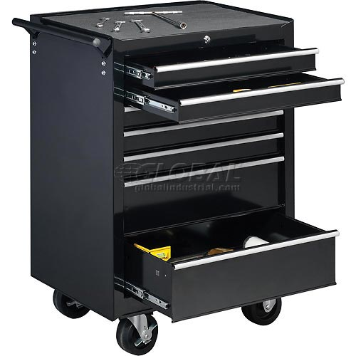 "Global Industrial 27"" 7-Drawer Roller Tool Cabinet W/ Ball Bearing Slides by"