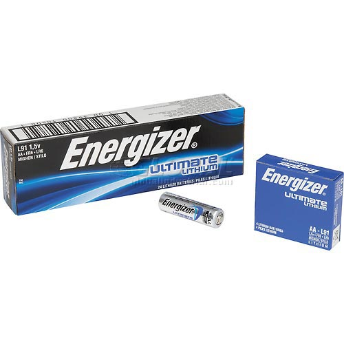 Buy Energizer Ultimate Lithium AA Batteries Bulk Pack Package Count 24