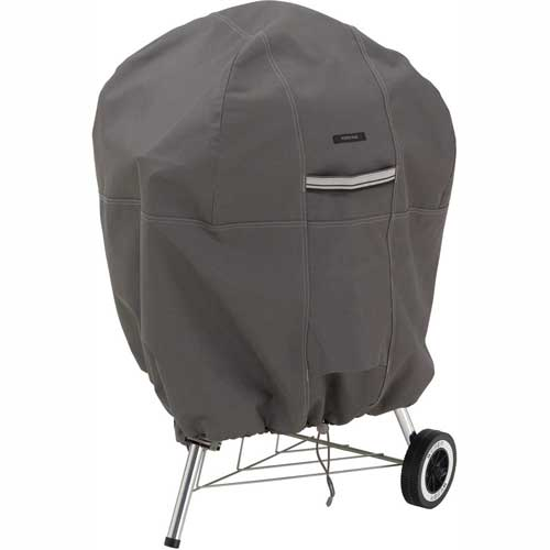 "Classic Accessories Kettle BBQ Cover Ravenna Series, Up To 26.5"" Dia. & 38""H 55-178-015101-EC by"