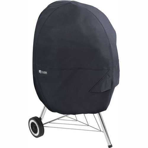 Classic Accessories Kettle BBQ Cover Black 55-315-010401-00 by