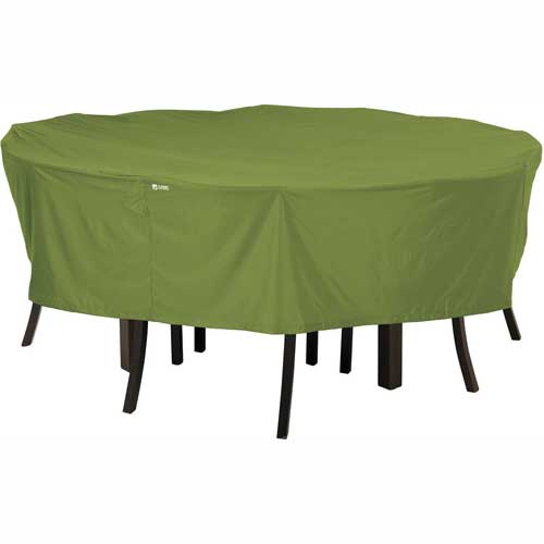 Classic Accessories Sodo Patio Table and Chair Cover Round, Medium, Herb 55-345-011901-EC by