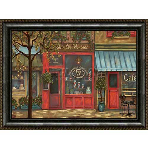 """Click here to buy Crystal Art Gallery framed canvas w/Foil Landscape Paint 40""""W x 30""""H, Straight Fit Framed."""