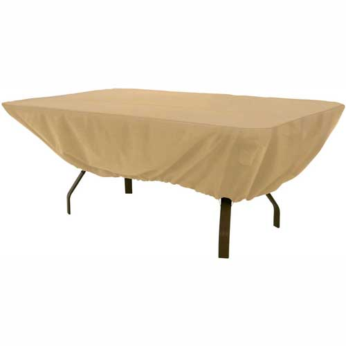 Classic Accessories Terrazzo Patio Table Cover Rectangular / Oval 58242 by