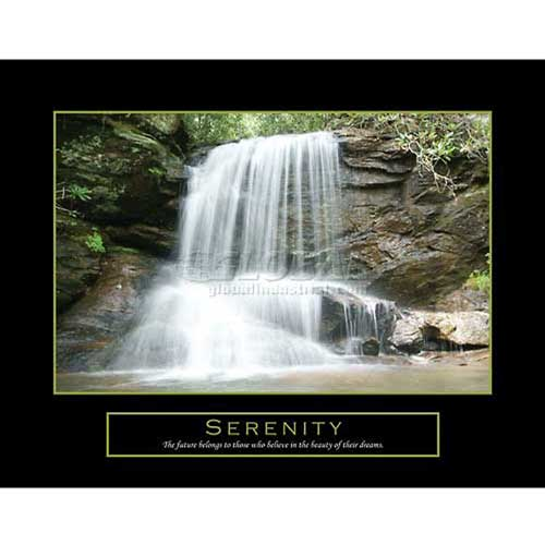 "Click here to buy Crystal Art Gallery Serenity Canvas 28""W x 22""H, Canvas Wrap."