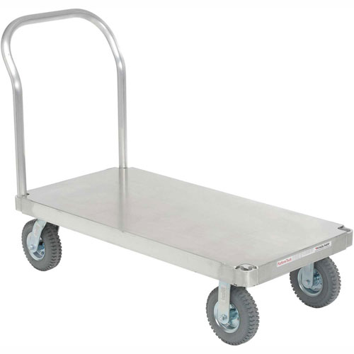 Magliner Aluminum Platform Truck with Smooth Deck 60 x 30 1200 Lb. Cap. by