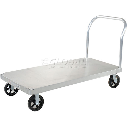 Magliner Aluminum Platform Truck with Smooth Deck 60 x 30 2400 Lb. Cap. by