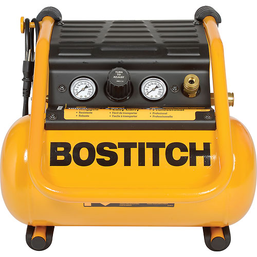 Bostitch BTFP01012, 2.5 Gallon Suitcase-Style Compressor by