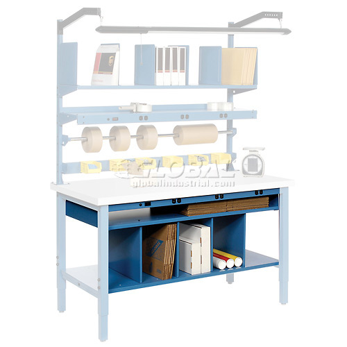 "60""W Lower Shelf Kit with Dividers by"