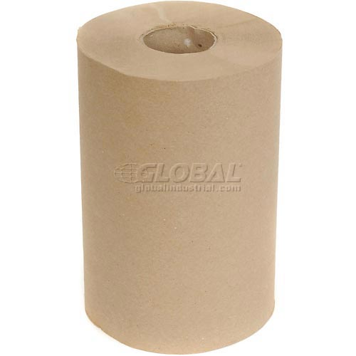 Cascades Décor Roll Paper Towels Natural 350'/Roll, 12 Rolls/Case by