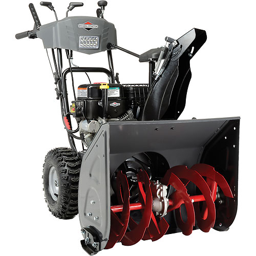 "Briggs & Stratton 24"" Medium Duty Dual Stage Snow Thrower w/Electric Start 1024MD by Snowblowers"