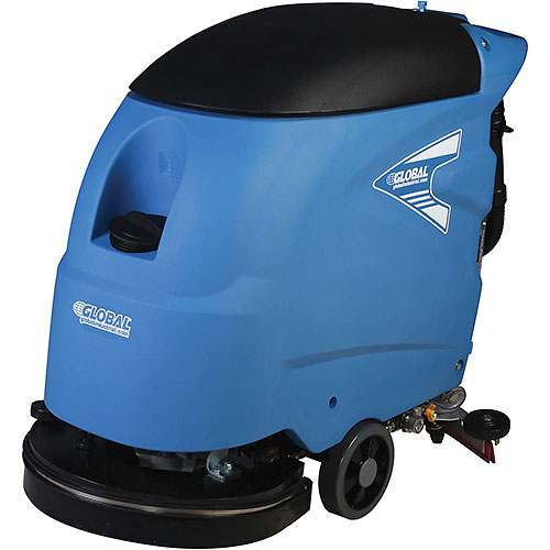 "Click here to buy Global Industrial Electric Auto Floor Scrubber 18"" Cleaning Path Corded."